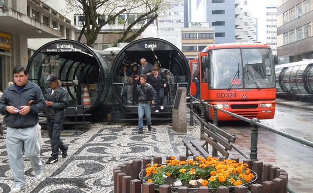 curitiba public transport