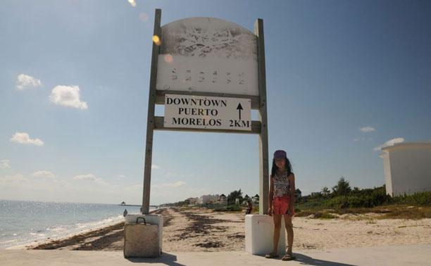 downtown puerto morelos