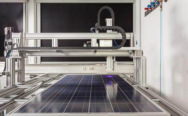 solar-panel-test-bed